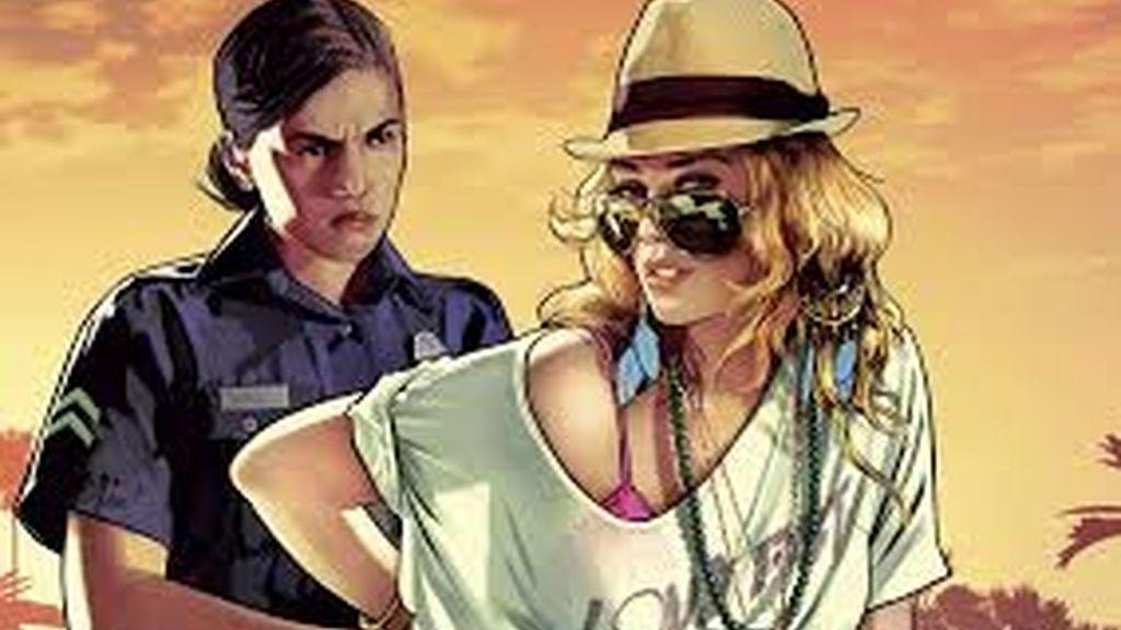 GTA, Grand Theft Auto V, videojuego
