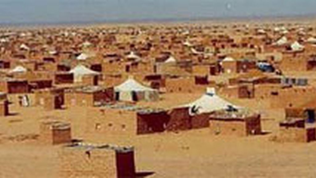Campamento saharaui en Argelia