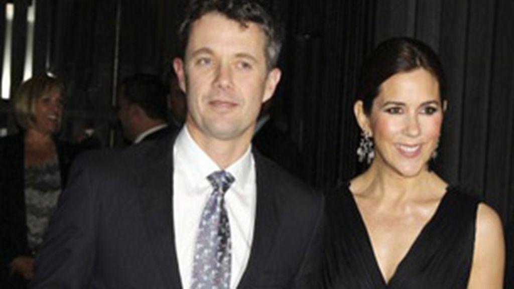 Príncipes de Dinamarca: Príncipe Federico y la princesa Mary