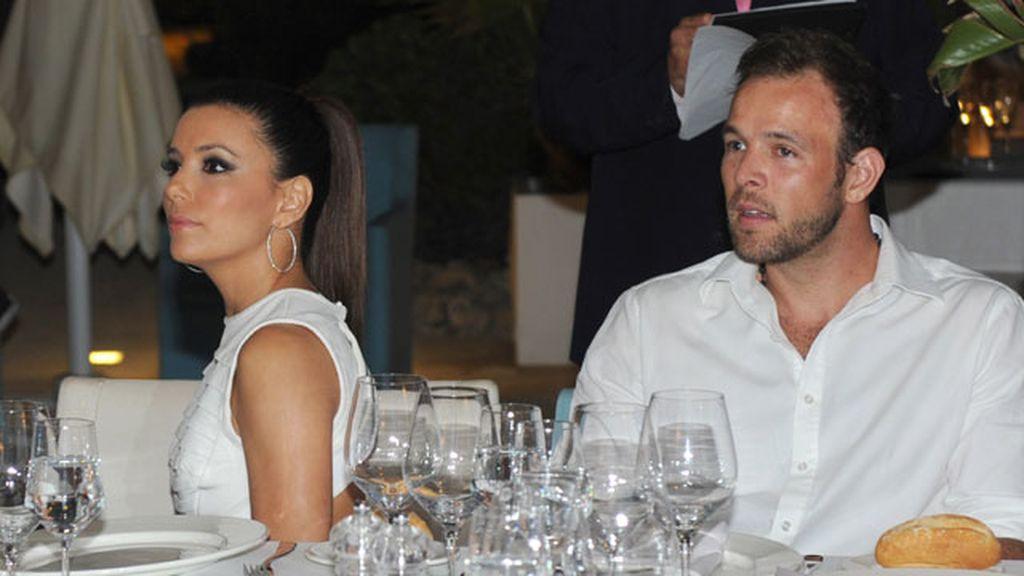 Eva Longoria and Ernesto Arguello