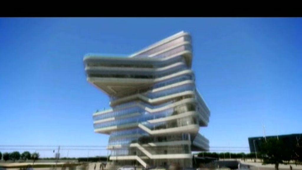 Spiralling Tower, en Barcelona