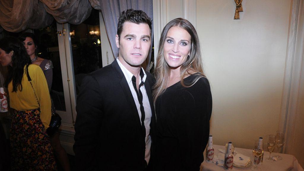 Fonsi Nieto y su novia Marta Castro