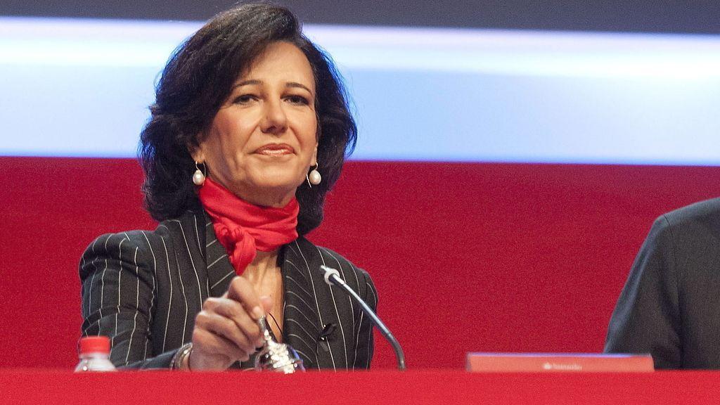 Ana Patricia Botín preside su primera junta de accionistas tras la muerte de su padre