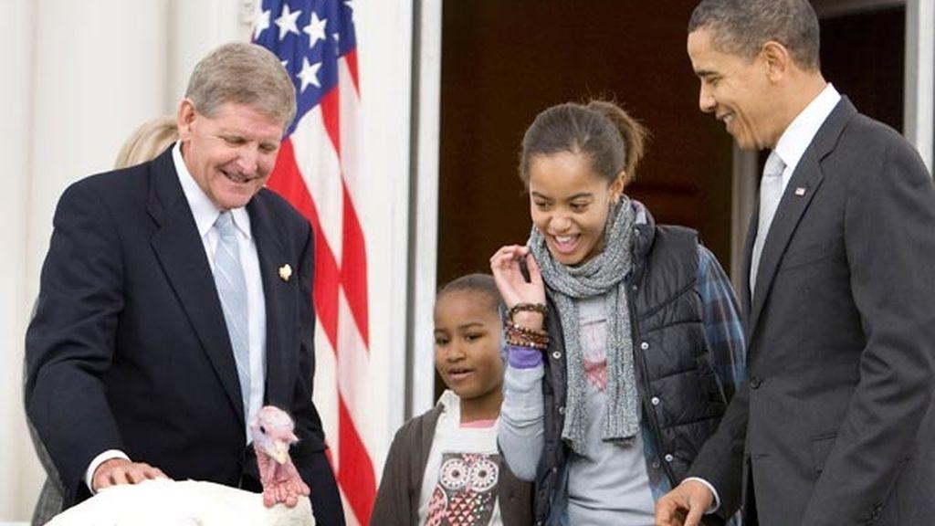 Obama indulta al pavo