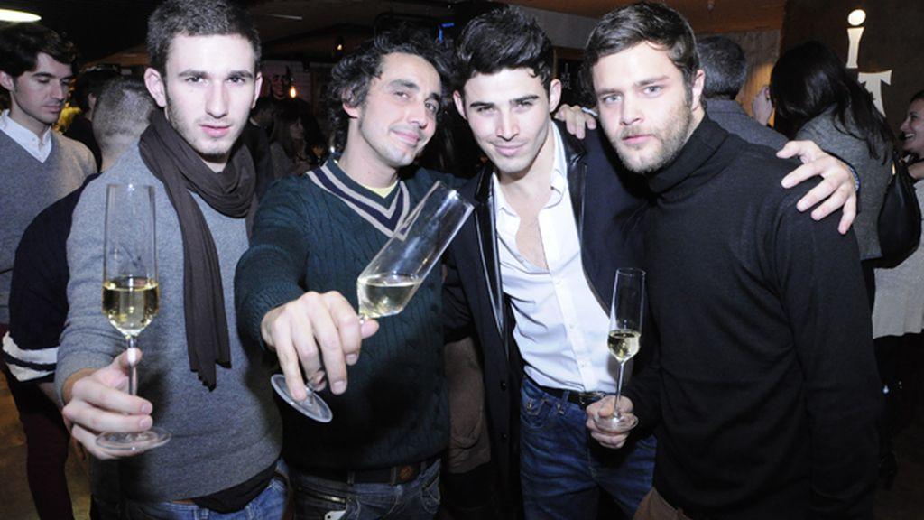 David Castillo, Canco Rodríguez, Ángel Capel y Wanagi Esquerre