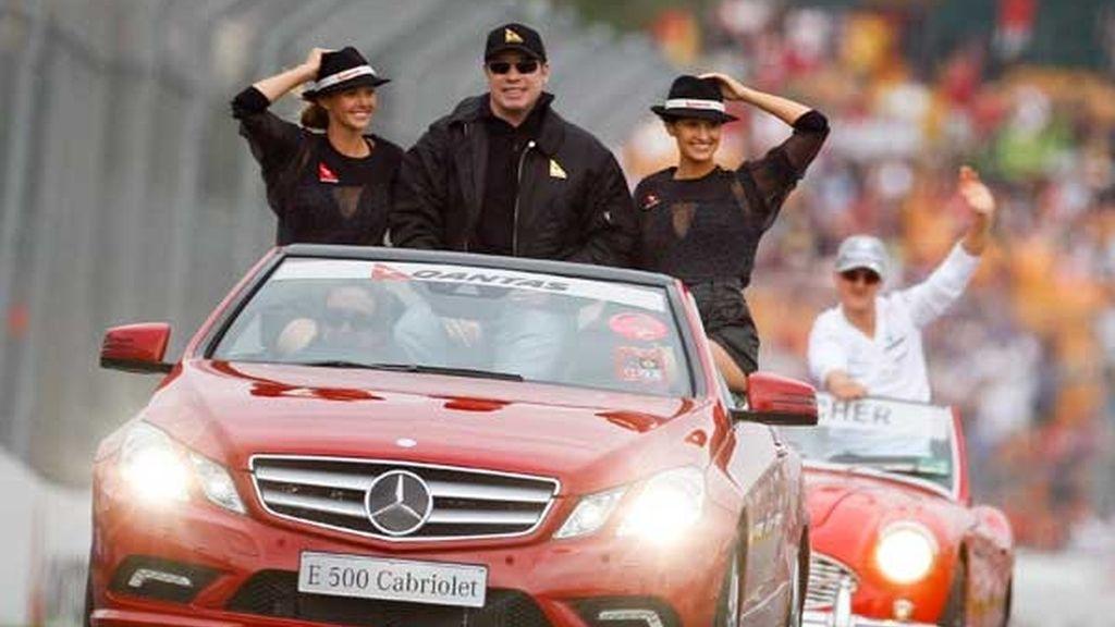 John Travolta, fan de la F1