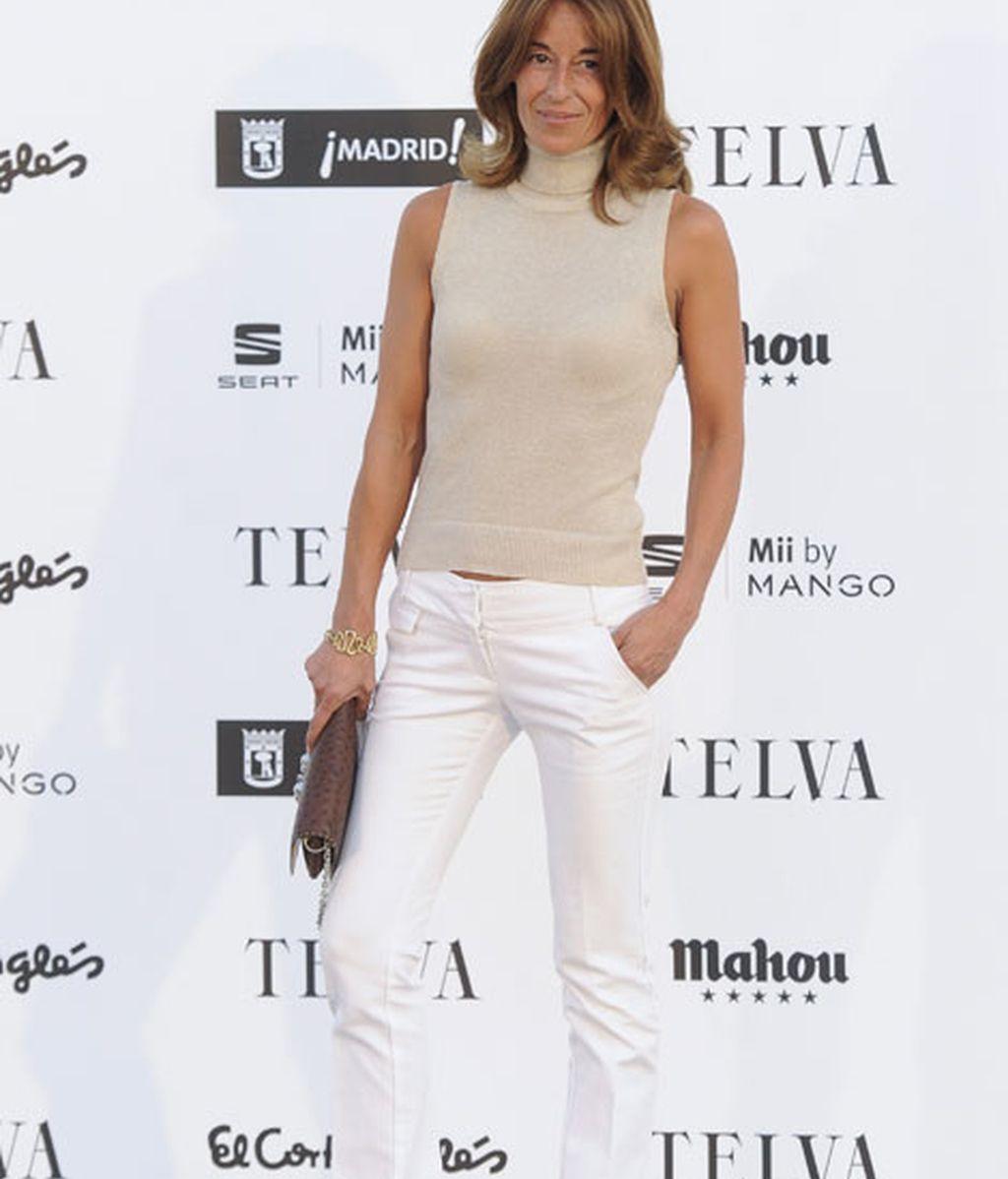 Mónica Martín Luque también apostó por pantalones