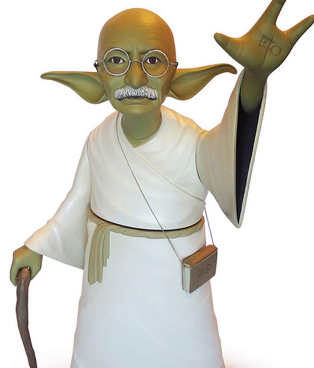 Ghandi, Obama, Lincoln o Michael Jackson convertidos en personajes de Star Wars