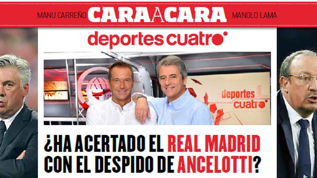 Revista deportes Cuatro Fútbol