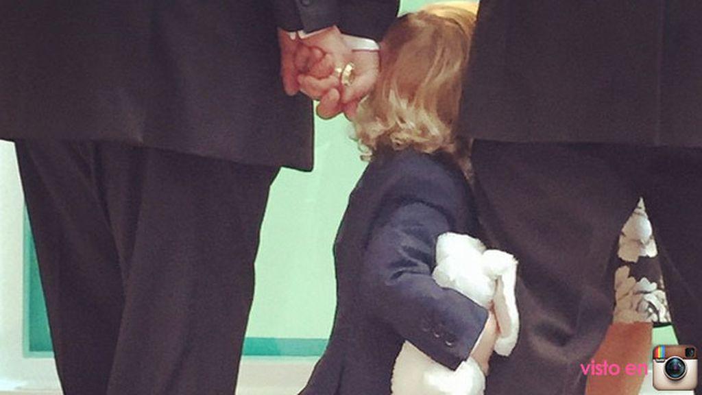 Zachary, el hijo mayor, fotografió a su hermano Elijah durante los votos