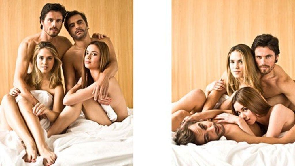 En la cama con Dafne Fernández y Octavi Pujades