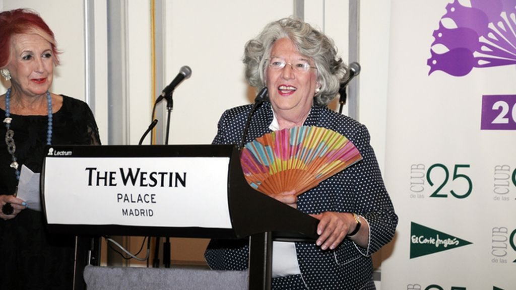 La socióloga Ángeles Durán, para quien una huelga de abuelas sería peor que una de autobuseros, fue otra de las premiadas