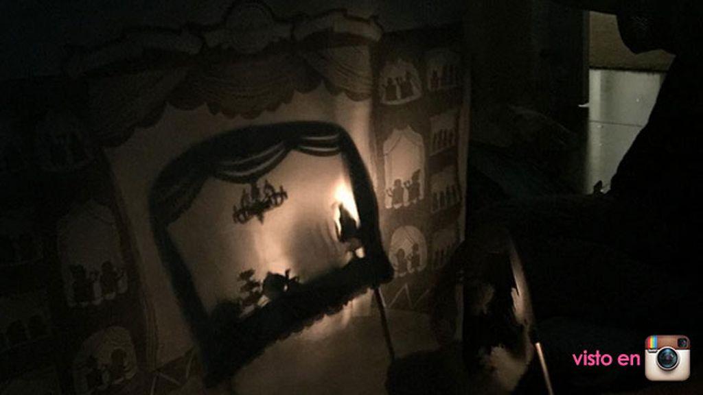"""""""El teatro de sombras siempre es una buena opción"""", así acababa el cumple"""