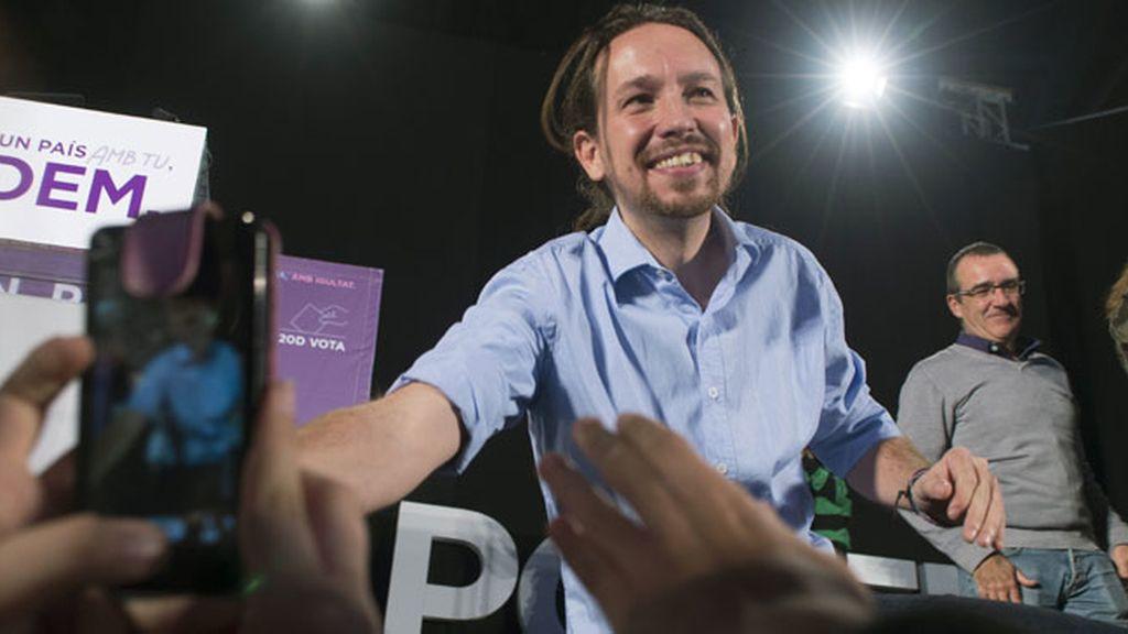"""Pablo Iglesias: """"Los partidos que han traído la corrupción no son los que nos van a sacar de ella"""""""