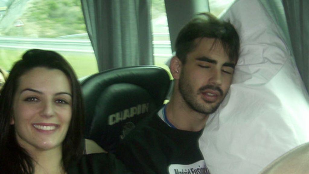 Chino y Paula de viaje a Bilbao