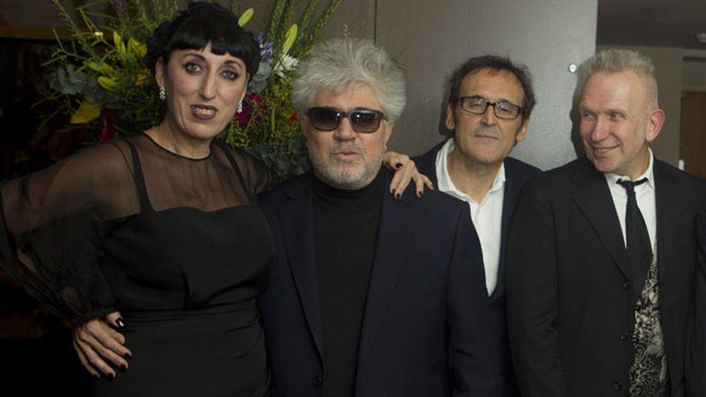 Tarantino expresó su admiración por el cineasta manchego vía vídeo