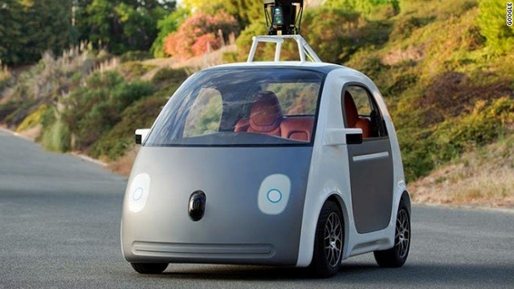 El prototipo del coche sin conductor de Google