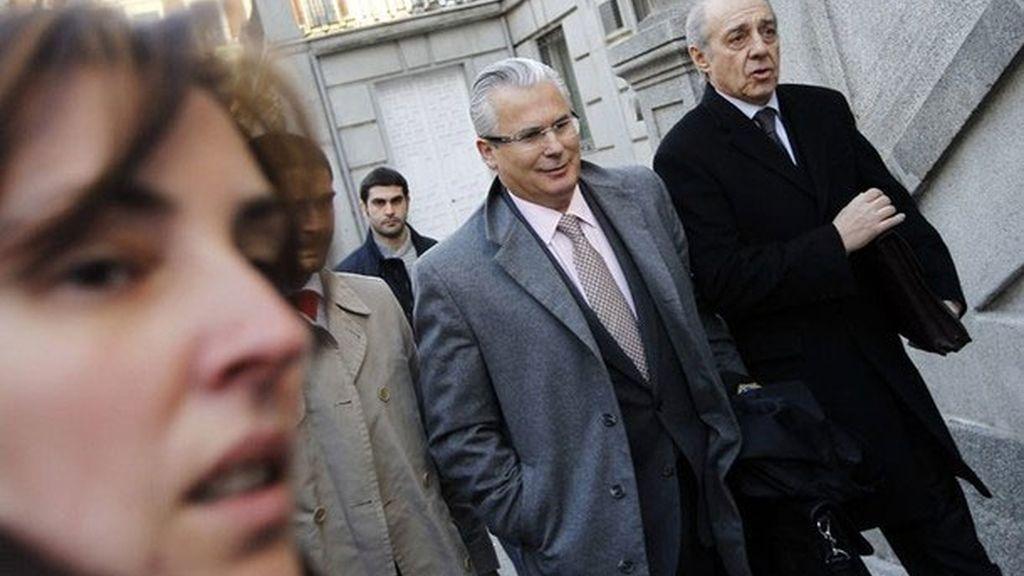 Baltasar Garzón en el Tribunal Supremo