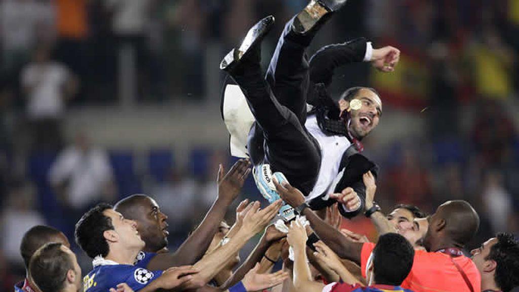 Pep Guardiola entra en la historia
