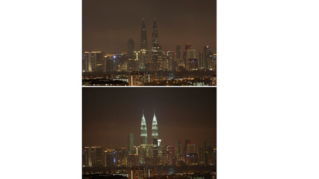 'Hora del Planeta' en Kuala Lumpur