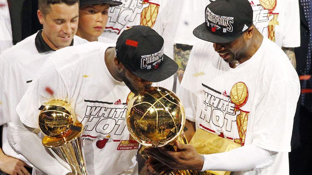LeBron James, la pieza clave de la victoria del Miami Heat