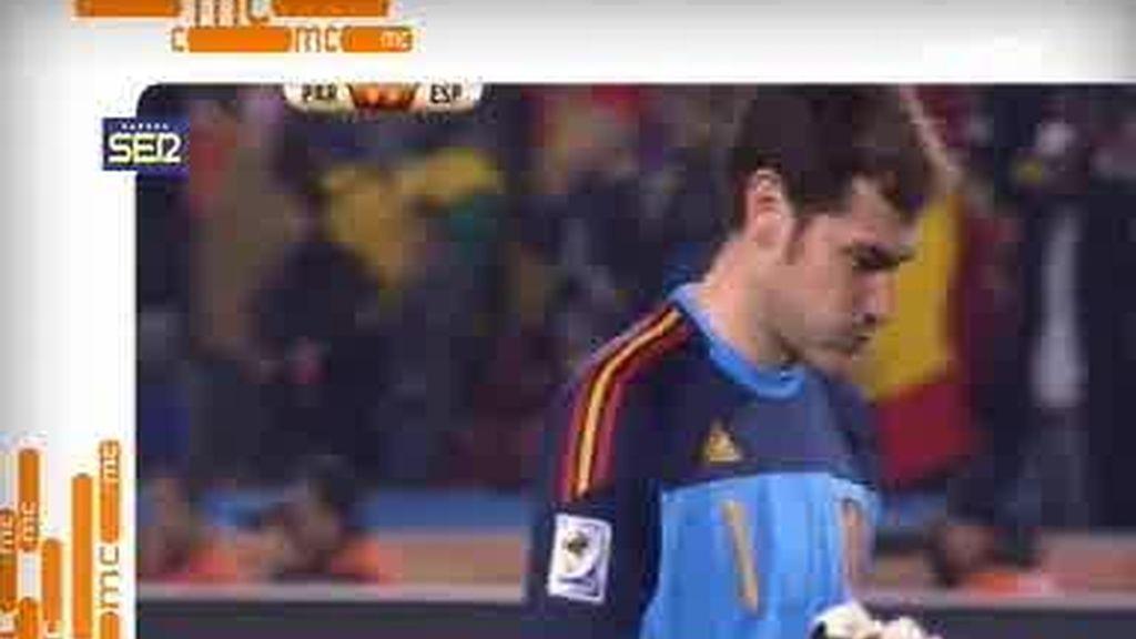 Casillas habla por primera vez de su relación con Sara Carbonero