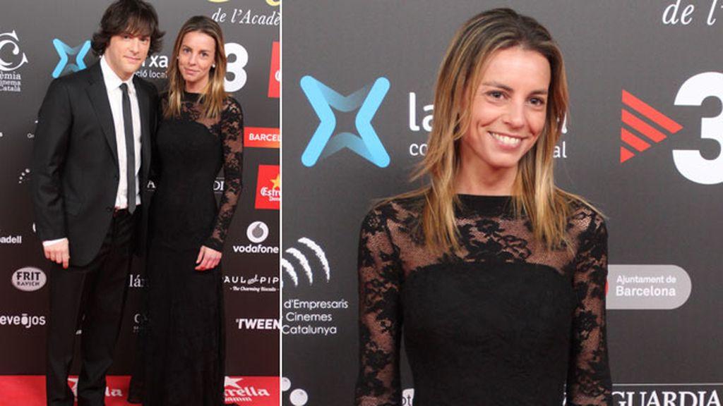 Jordi Cruz fue acompañado de su chica, Cristina Jiménez