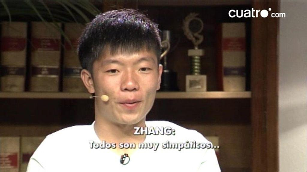 Zhang y el castellano