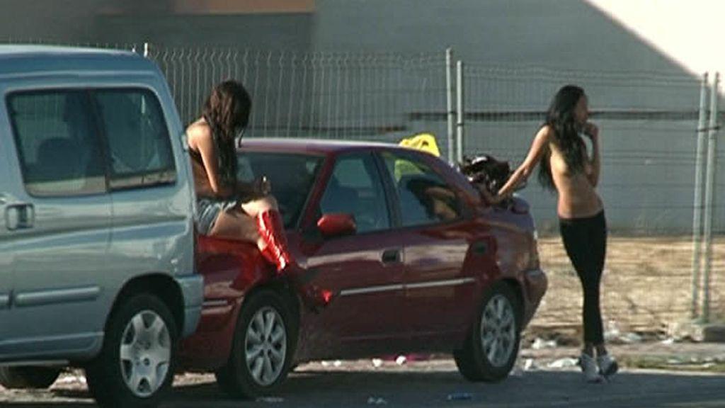 Ejerciendo la prostitución en la calle
