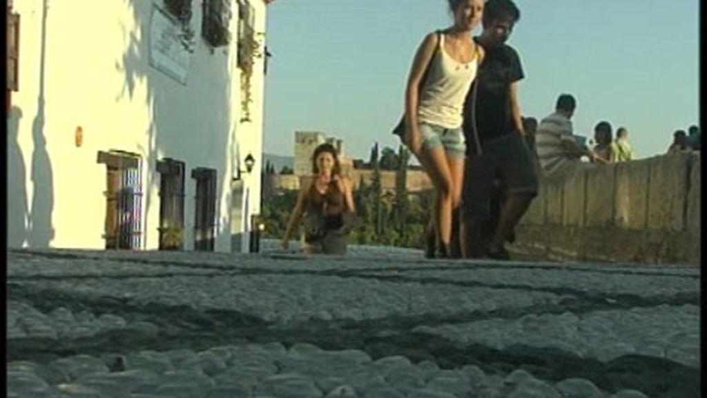 Michelle y Sasha, en Granada