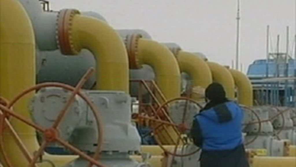Una espita de gas