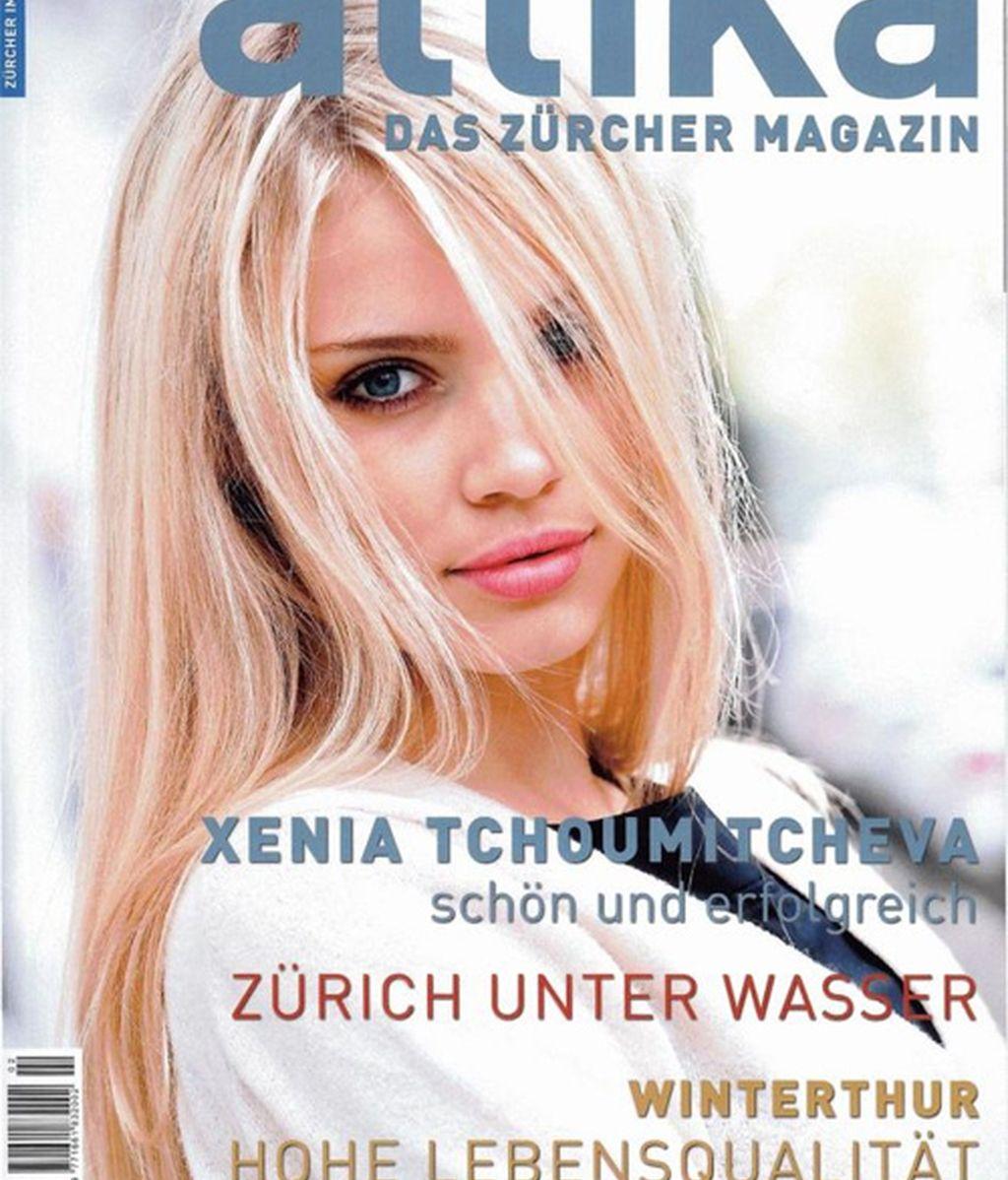 Xenia Tchoumitcheva en 13 pinceladas