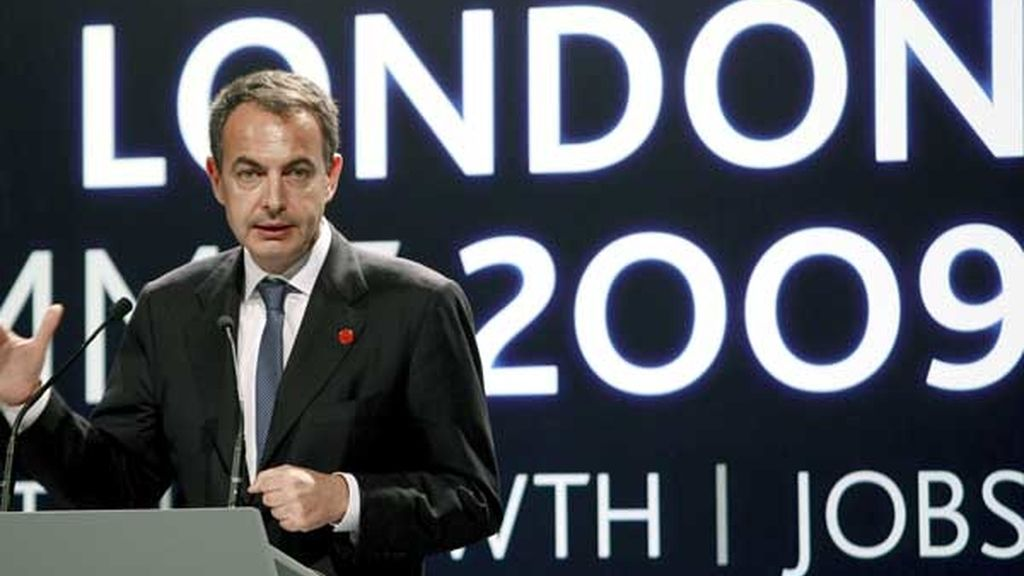 Zapatero, satisfecho tras el G-20