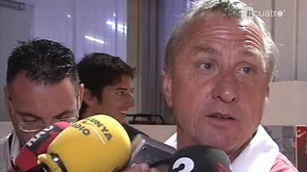 Johan Cruyff habla del Real Madrid y el Barcelona