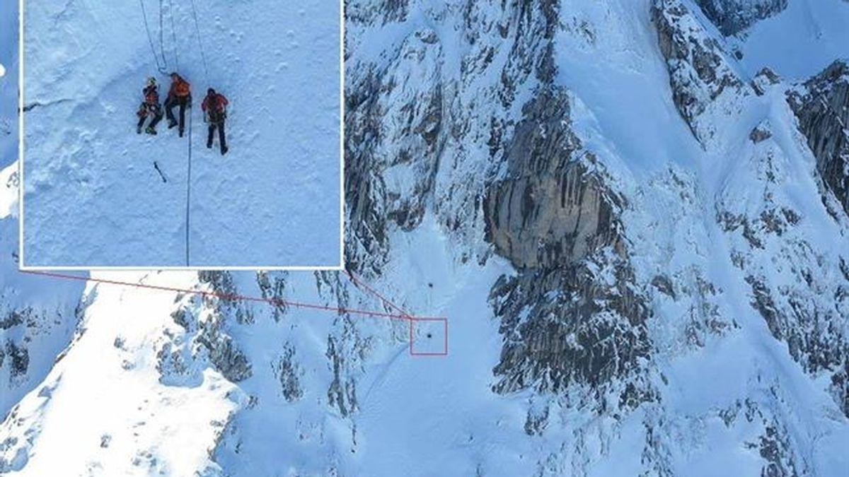 Heridos dos escaladores