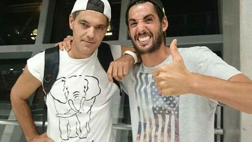 Frank y Santi