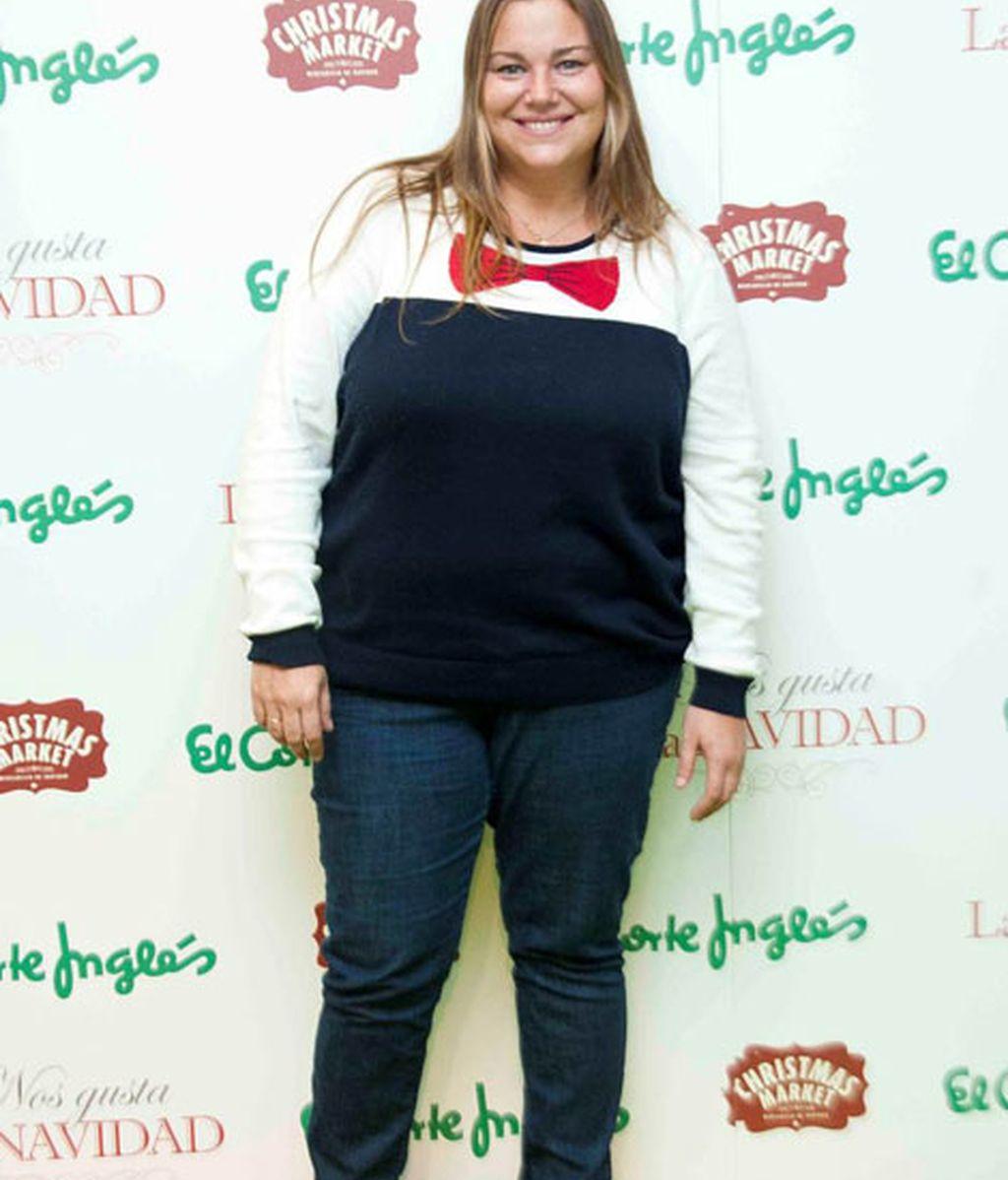 Caritina Goyanes eligió un estilismo muy cómodo