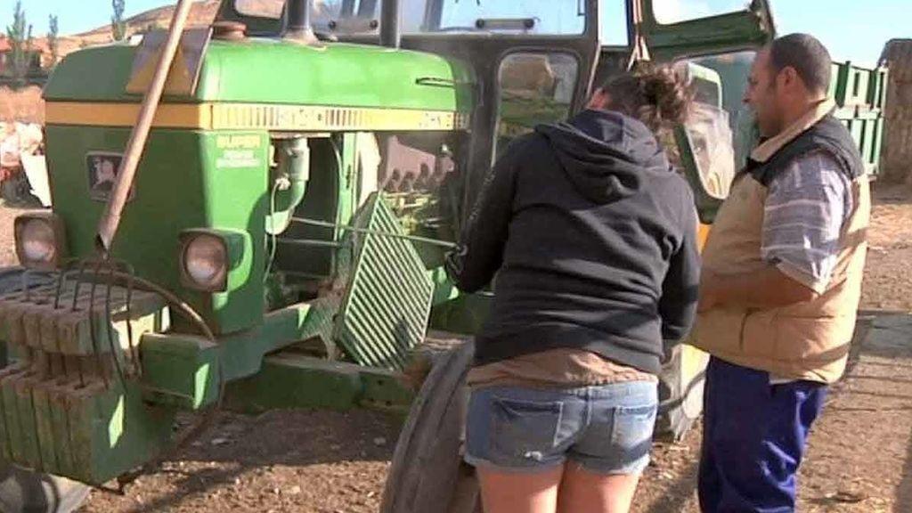 Las chicas se adaptan a las granjas