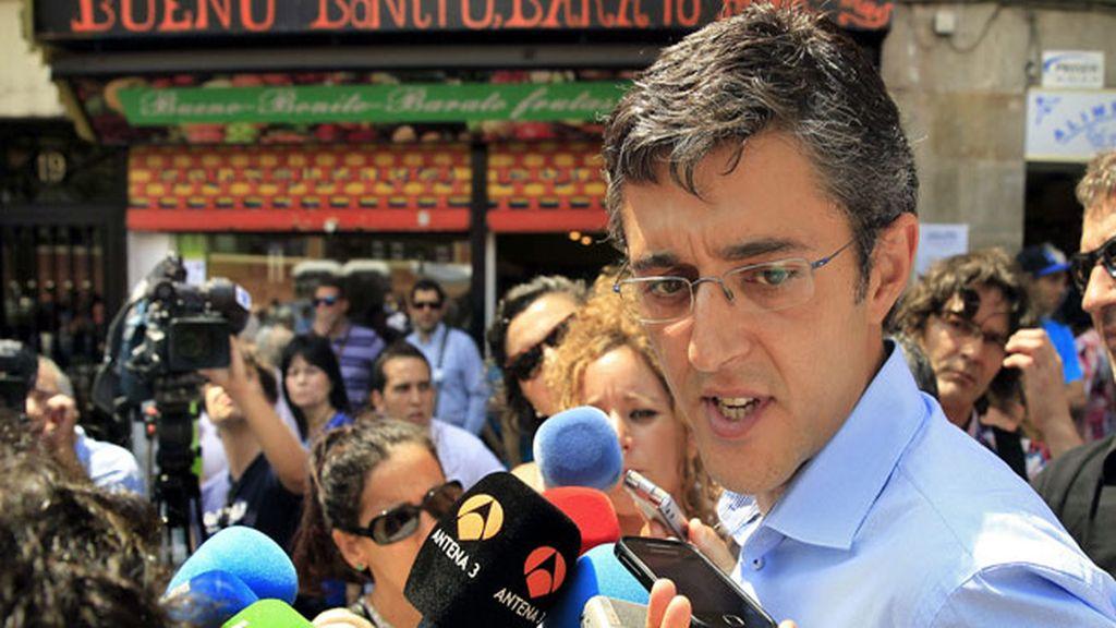 El diputado y secretario general del Grupo Parlamentario Socialista en el Congreso, Eduardo Madina