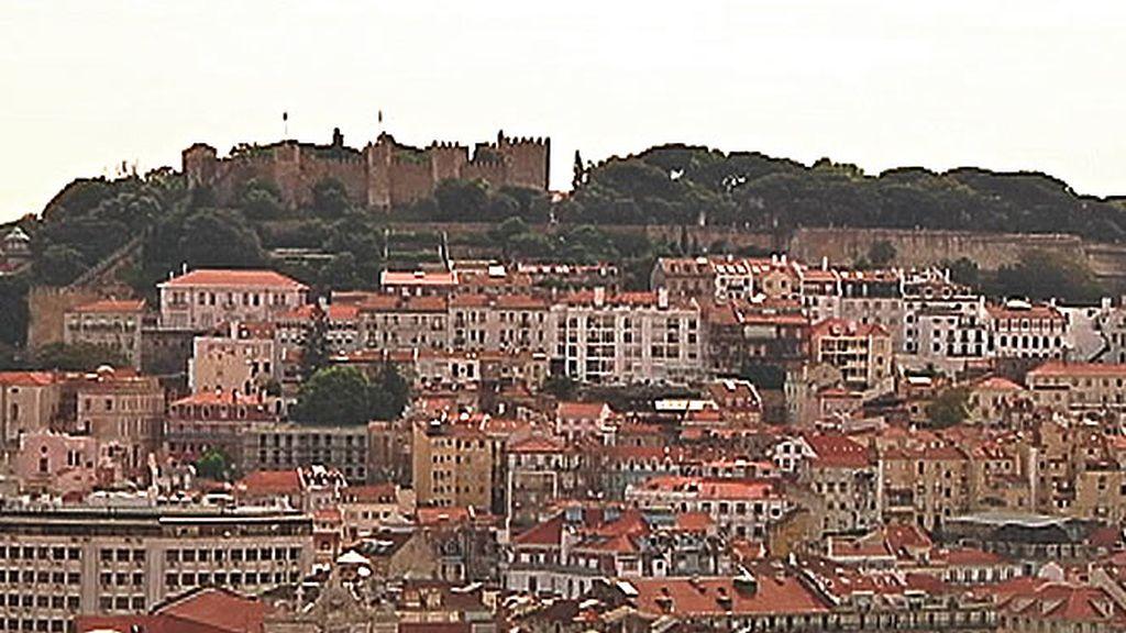 Impresionante vista de la ciudad de Lisboa