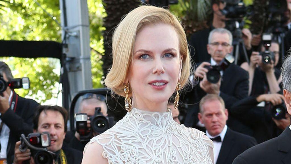 Nicole Kidman, elegante sobre la alfombra roja