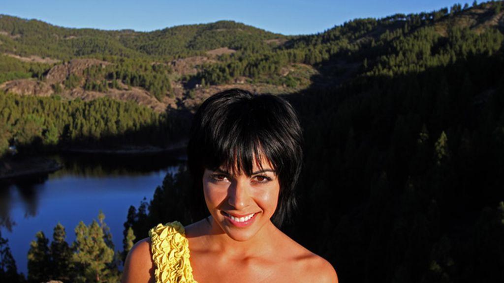 Raquel del Rosario vuelve a Gran Canaria en busca de su vista favorita