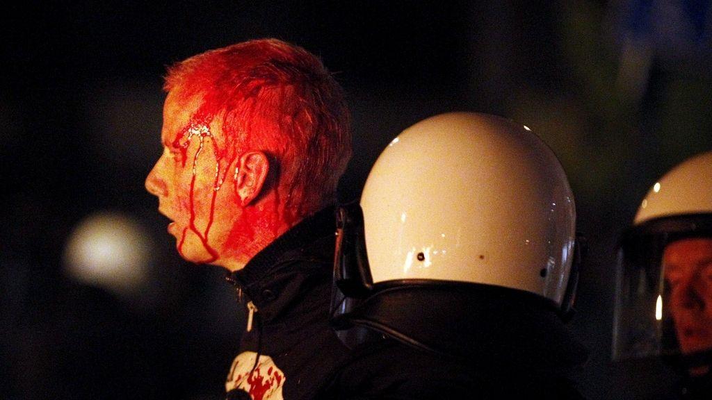 Holanda,Facebook, evento, invitados, disturbios, policía,