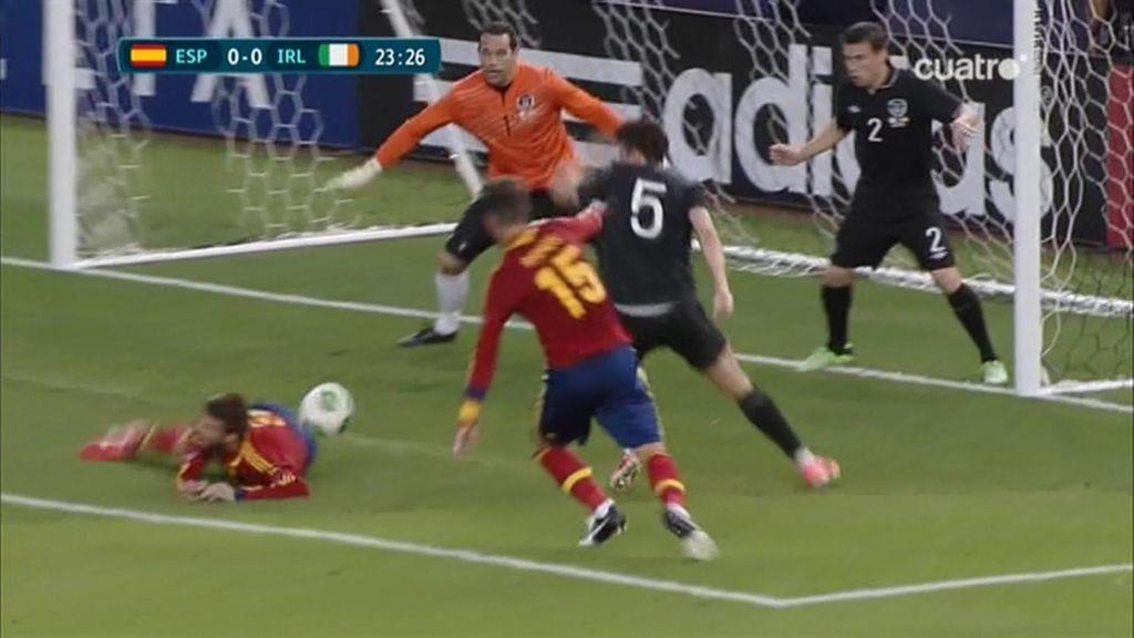 Las mejores fotos del España - Irlanda