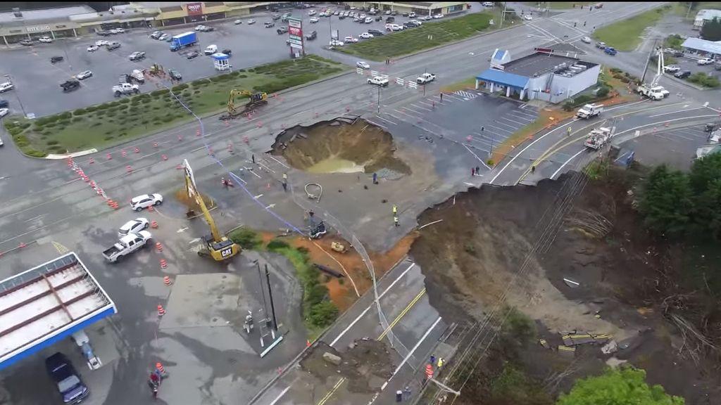 Enorme agujero en Oregon