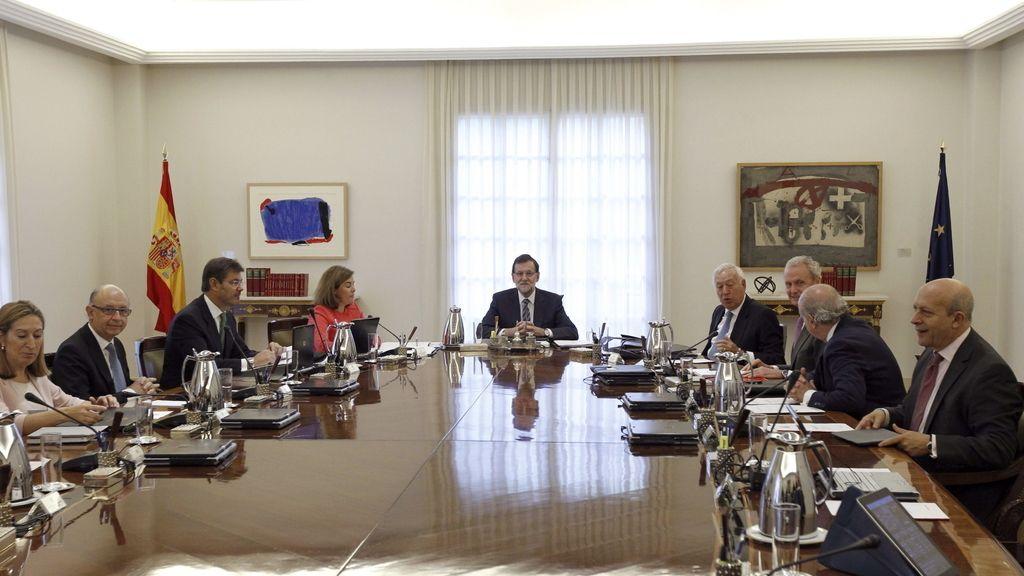 Reunión extraordinaria del Consejo de Ministros para frenar la consulta catalana