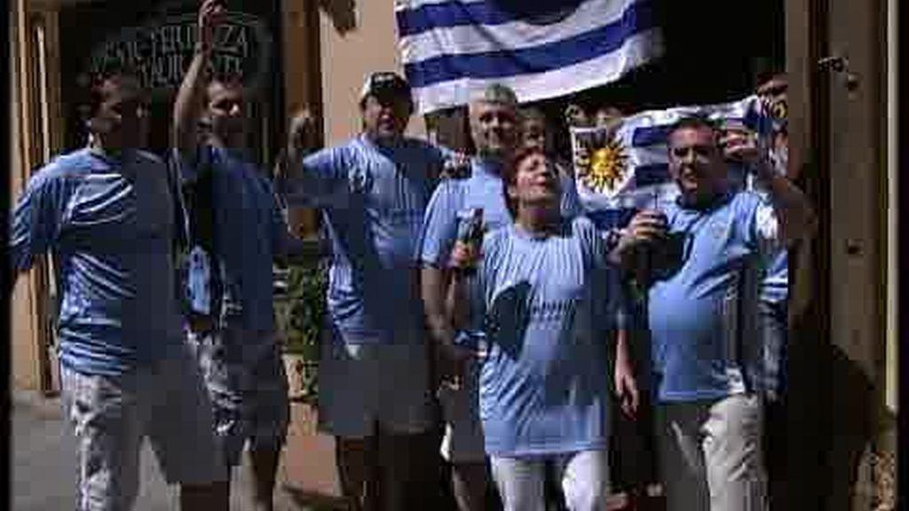 La eficacia holandesa frente al coraje uruguayo