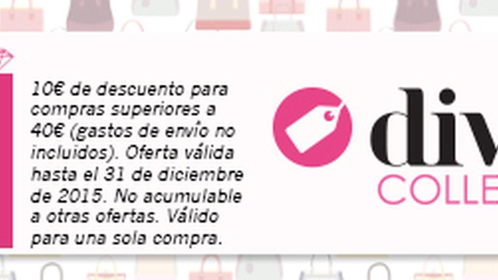 codigo promocional descuento divinity collection noviembre