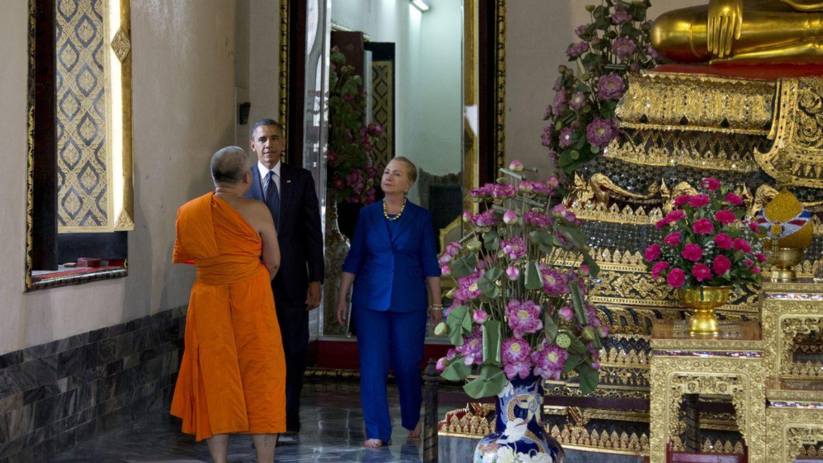 Obama inicia en Tailandia su primera gira internacional