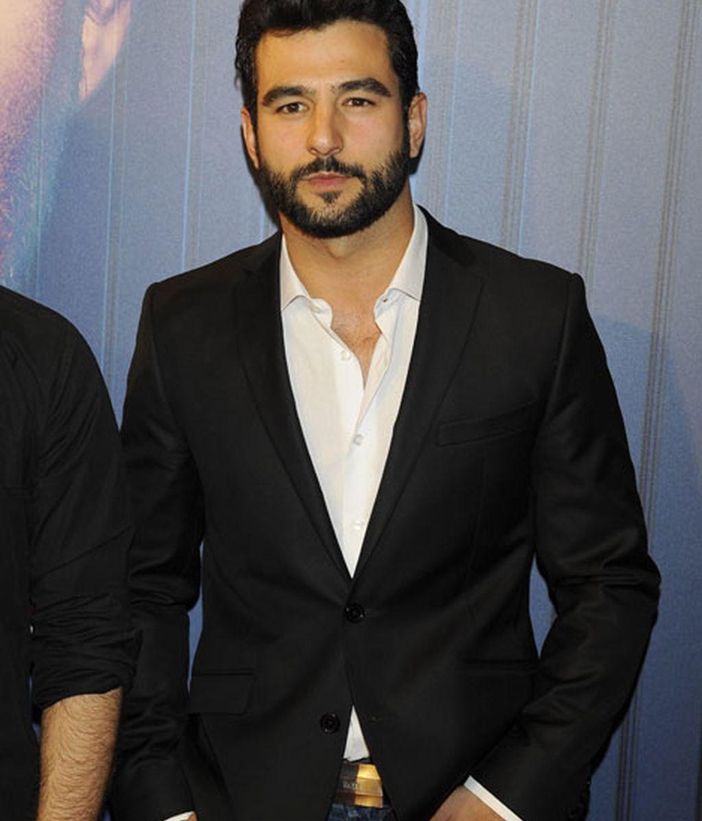 Antonio Velázquez, el actor de 'Hermanos', acudió a la fiesta